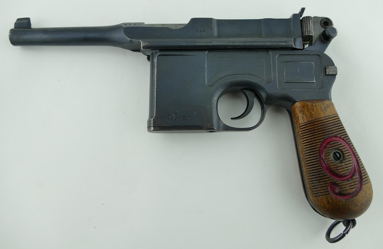 Mauser C/96 Red Nine 1920 Reworked Pistol | Parker Gun Store