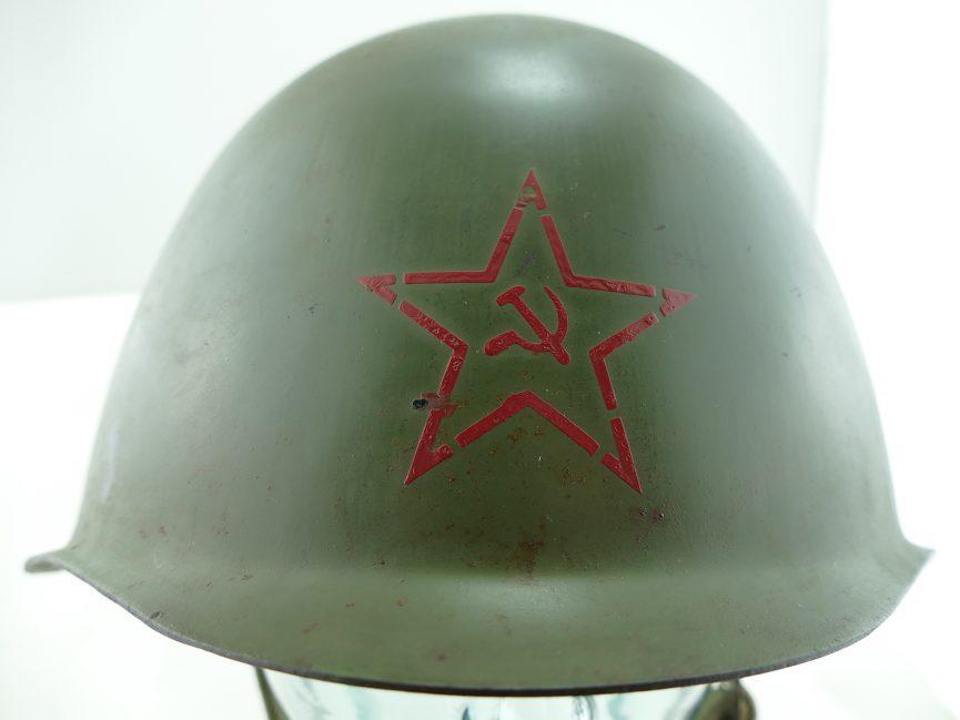 Soviet SSH-39 WW2 WWII Steel Helmet, Model 1939   Parker Gun Store