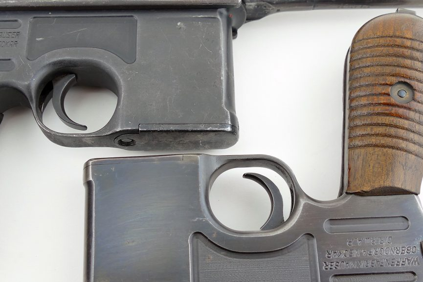 How To Spot A Refinished Mauser Broomhandle Parker Gun Store